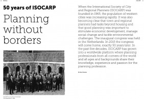 Scape #14 about ISOCARP-1