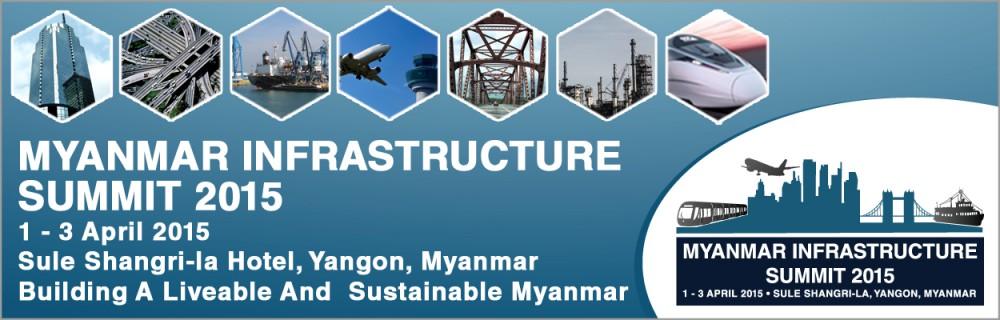 Myanmar Infrastructure 2015 Banner