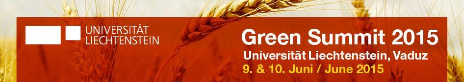 Green Summit 2015 banner
