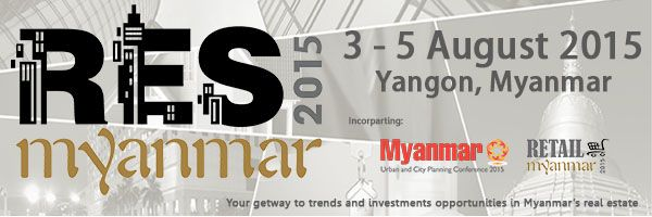 Real Estate Show Myanmar 2015 banner