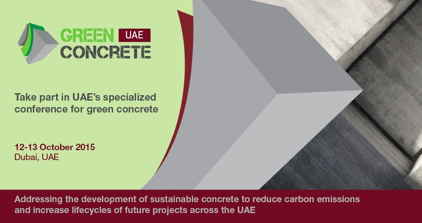 EEA_Green Concrete UAE 2015 - Banner