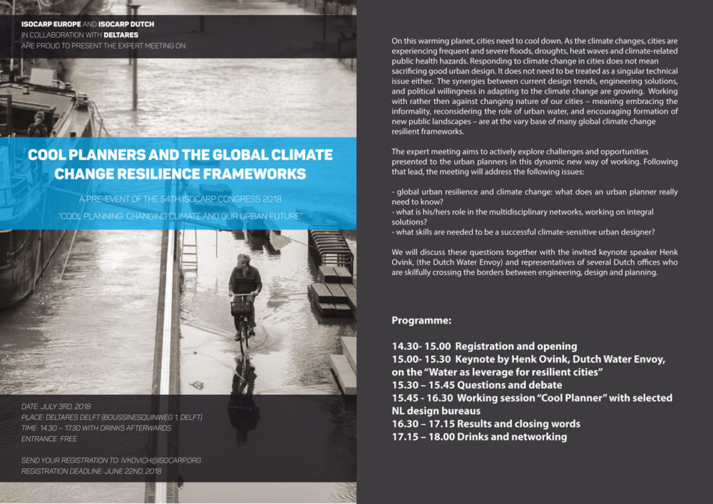Dutch Expert Meeting Cool Planners And The Climate Agenda